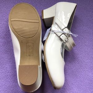 White Patent Mary Janes
